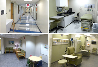 images of CTRC Outpatient Unit
