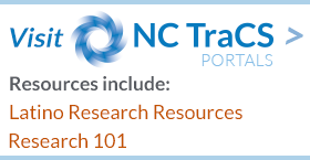 Visit the NC TraCS Research Portals